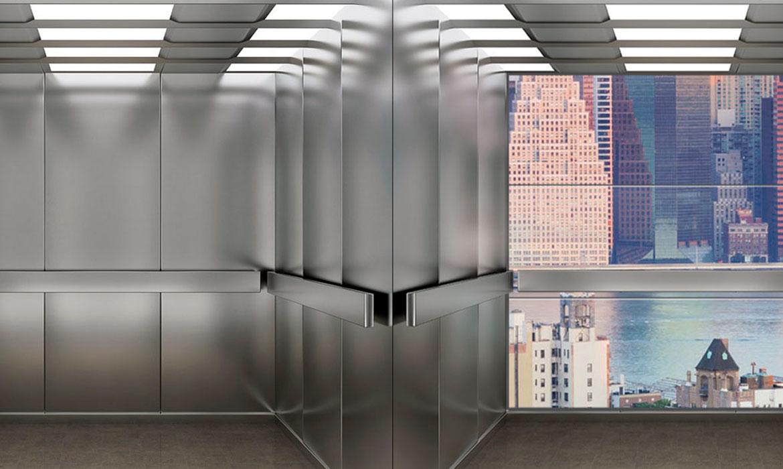 cửa sổ thang máy thực tế ảo