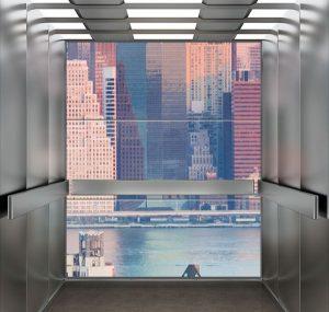 Cửa sổ thang máy thực tế ảo 2