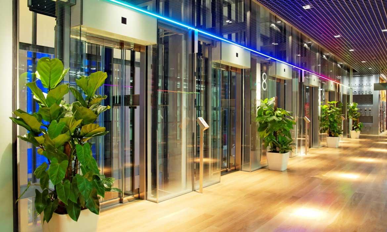 thang máy tương lai