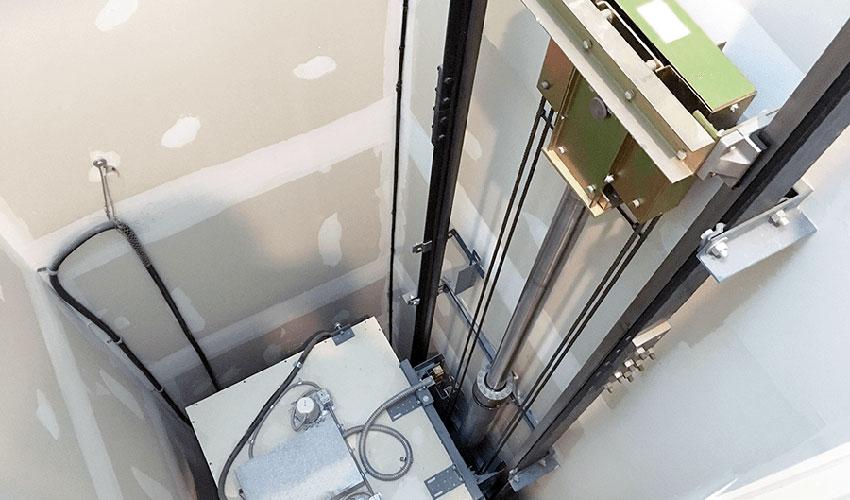 thang máy gia đình thuỷ lực