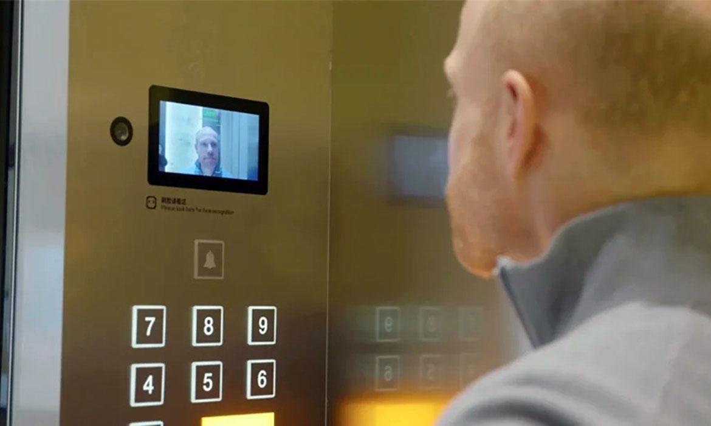 thang máy Việt Tiến nhận diên khuôn mặt