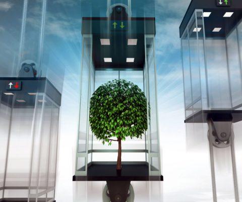 Thang máy thông minh thế hệ mới 2021 10