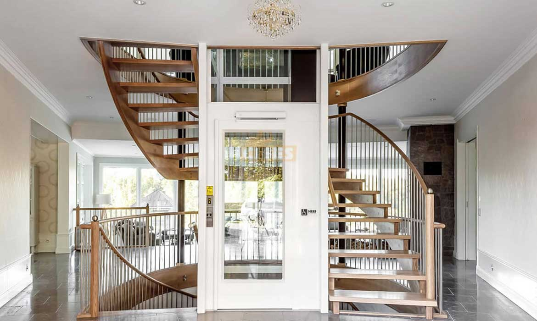 thiết kế thang máy gia đình Việt Tiến